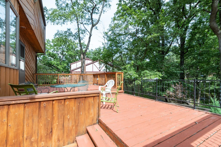 Real Estate Photography - 42 Danube Way, Olympia Fields, IL, 60461 - Deck