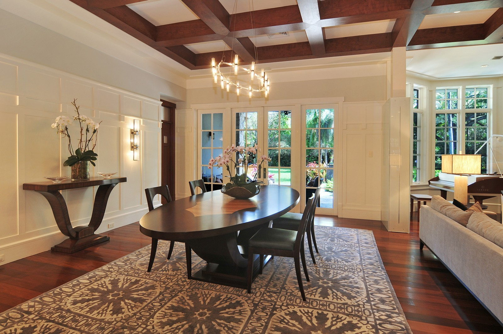 Real Estate Photography - 10225 Coral Creek Rd, Coral Gables, FL, 33156 - Dining Room