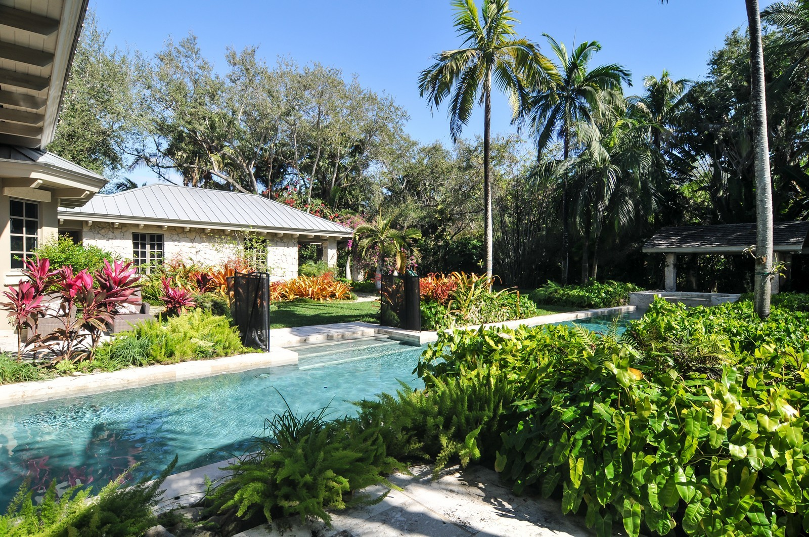 Real Estate Photography - 10225 Coral Creek Rd, Coral Gables, FL, 33156 - Pool