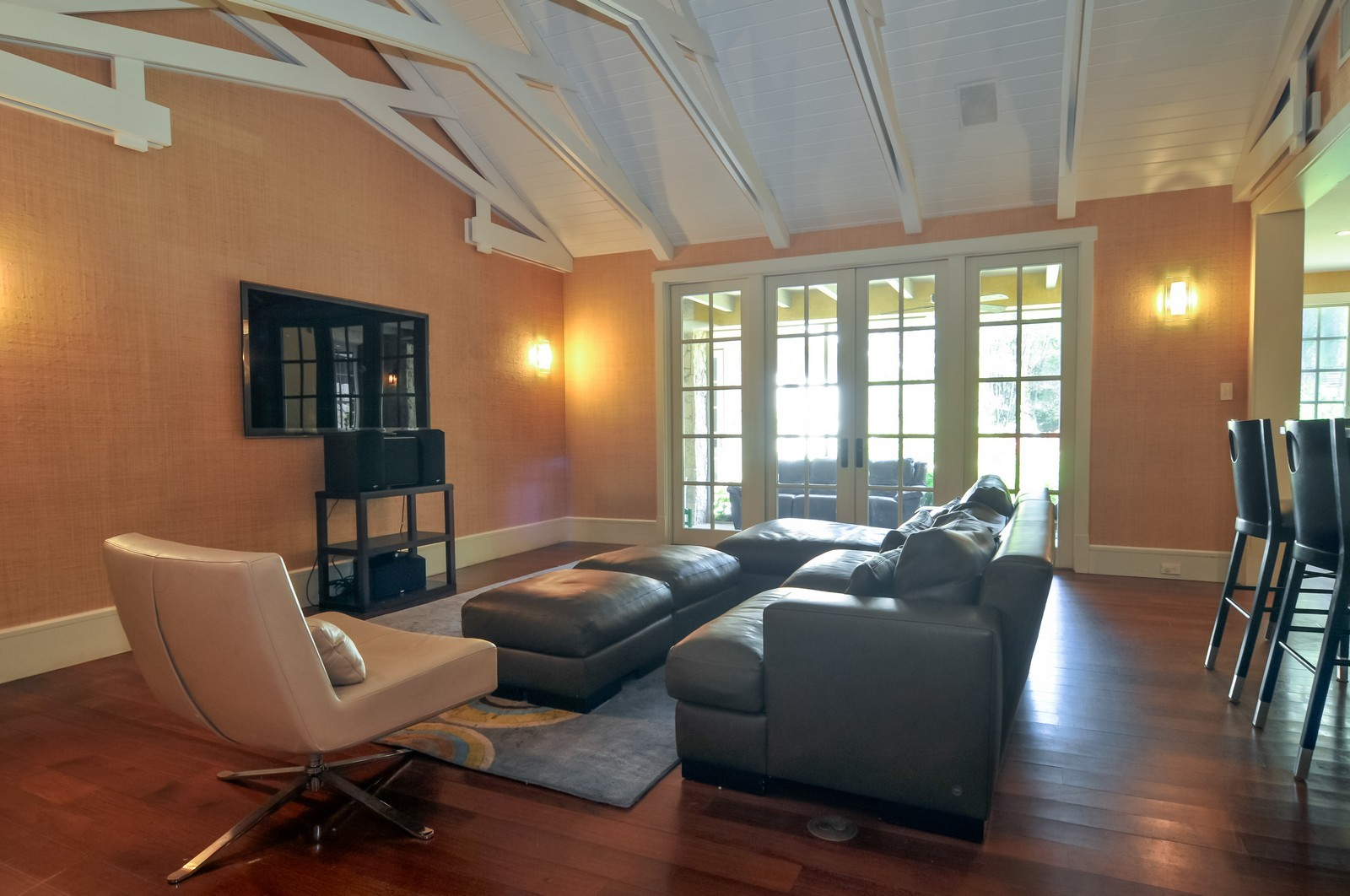 Real Estate Photography - 10225 Coral Creek Rd, Coral Gables, FL, 33156 - Family Room