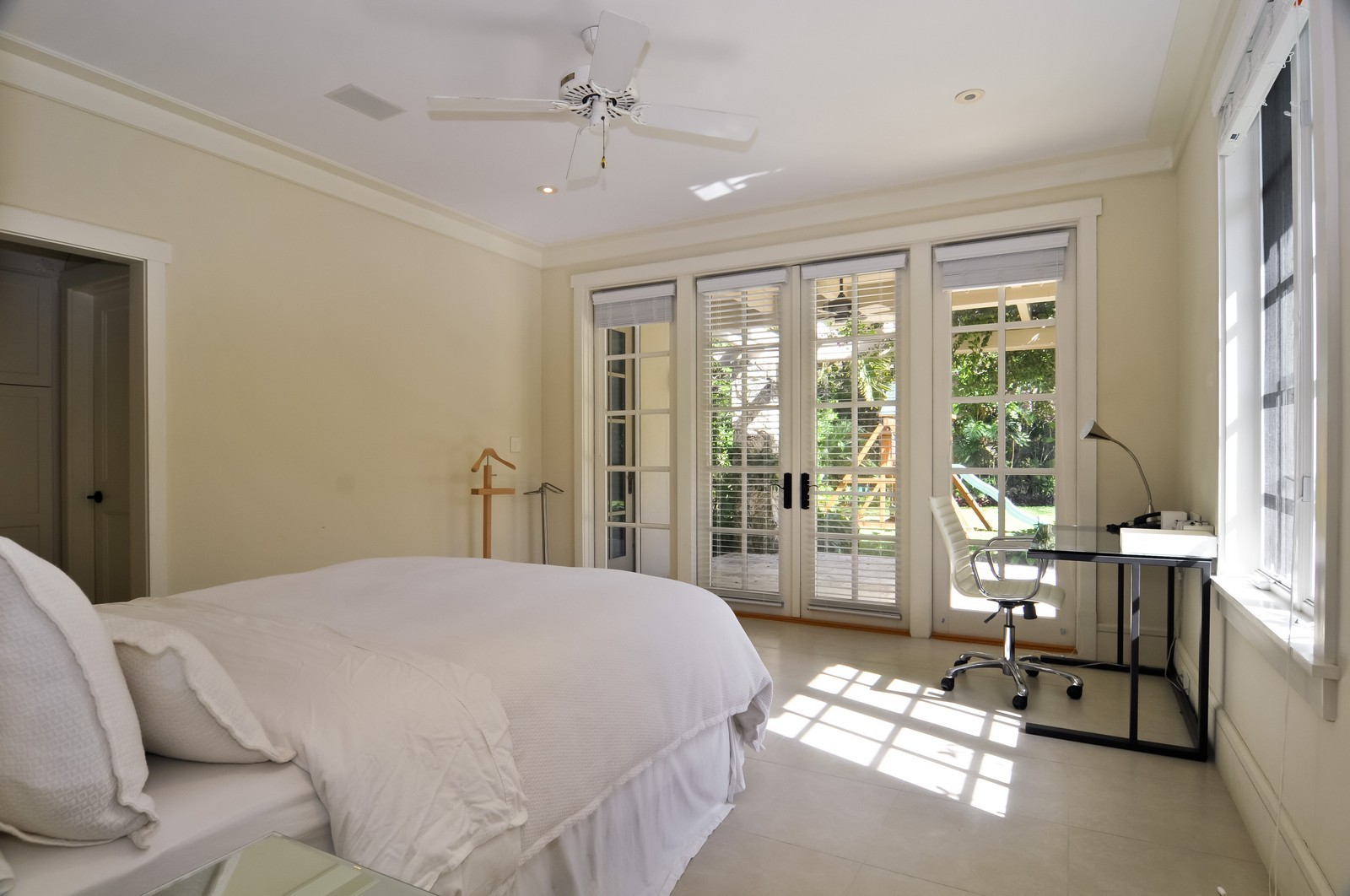 Real Estate Photography - 10225 Coral Creek Rd, Coral Gables, FL, 33156 - Guest House Bedroom