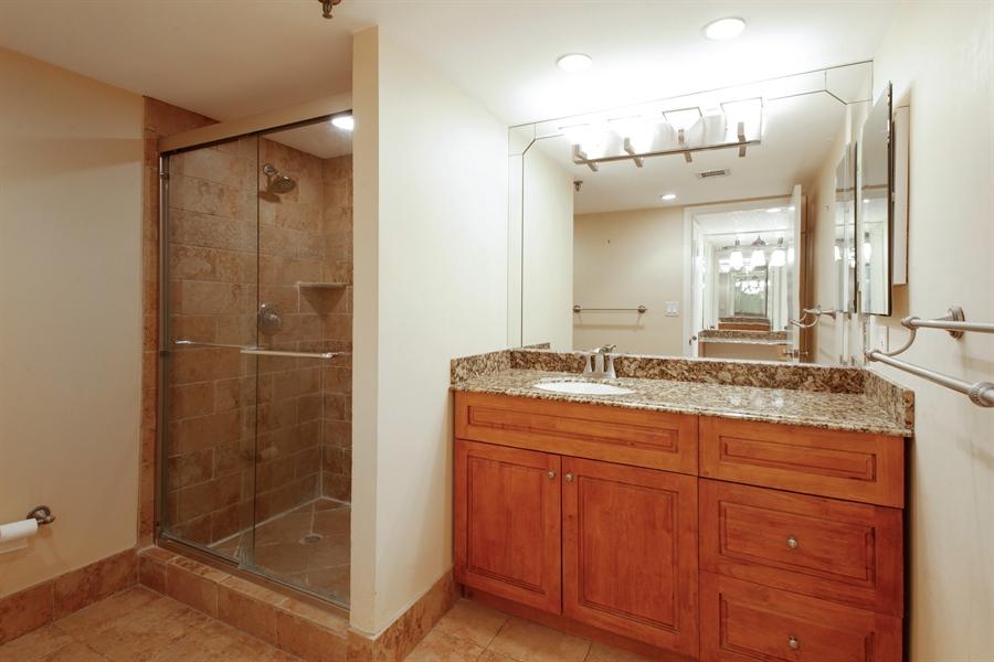 Real Estate Photography - 900 NE 195th St, 612, Miami, FL, 33179 - Master Bathroom