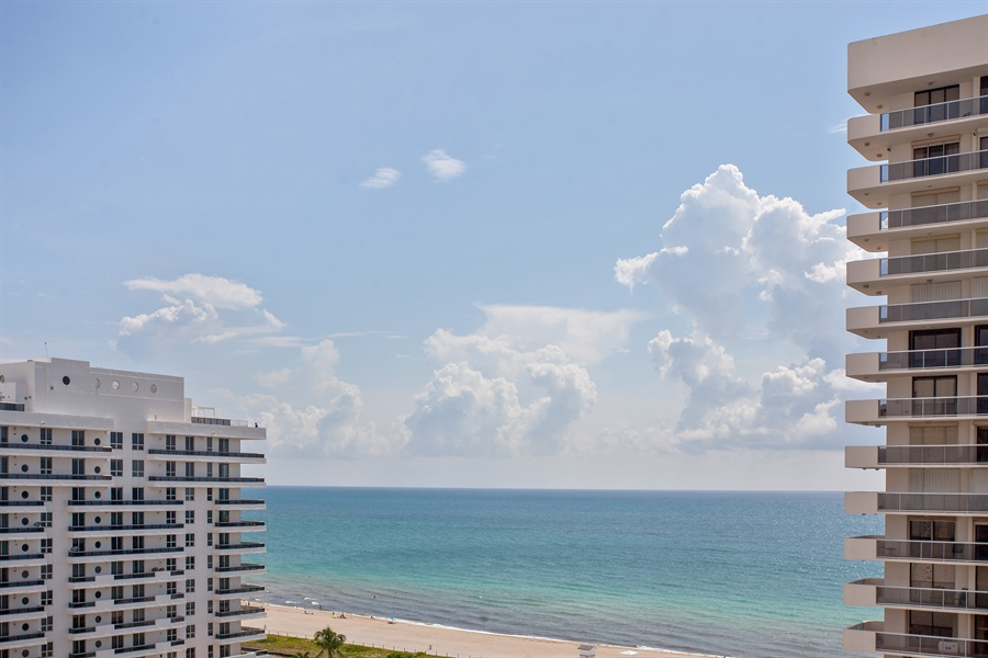 Real Estate Photography - 5700 Collins Ave, 15M, Miami Beach, FL, 33140 - View