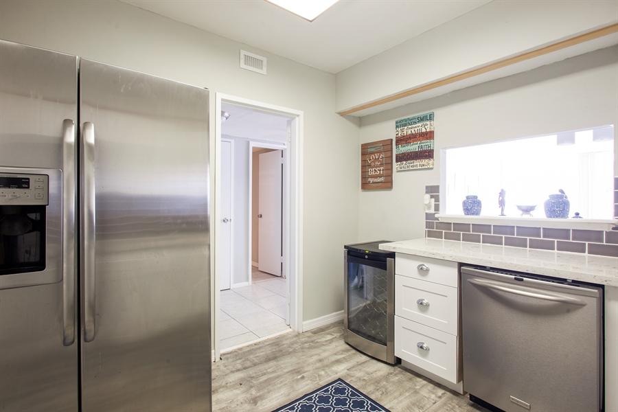 Real Estate Photography - 5700 Collins Ave, 15M, Miami Beach, FL, 33140 - Kitchen