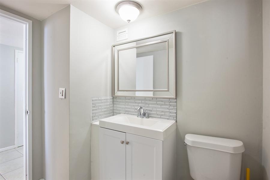 Real Estate Photography - 5700 Collins Ave, 15M, Miami Beach, FL, 33140 - Half Bath
