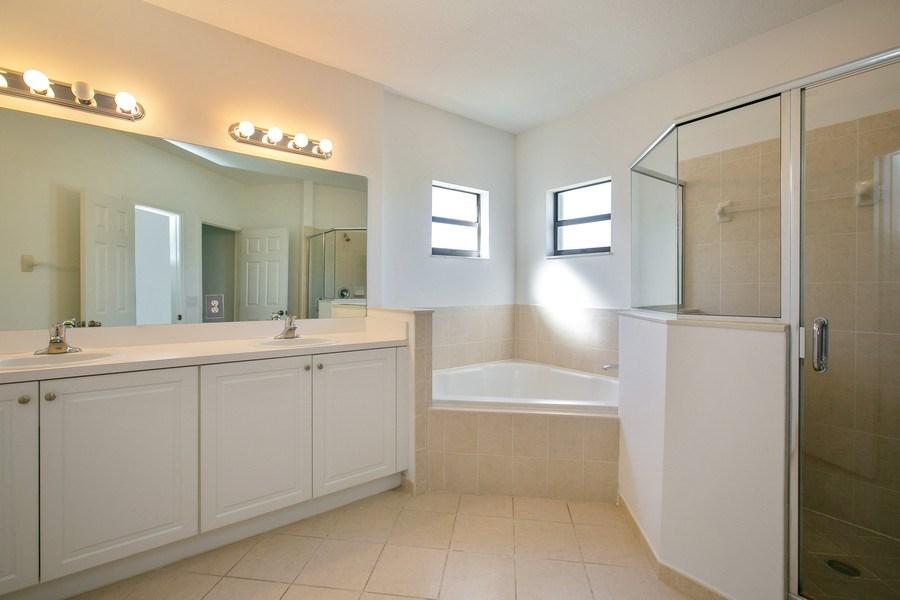 Real Estate Photography - 11441 SW 242 Lane, Homestead, FL, 33032 - Master Bathroom