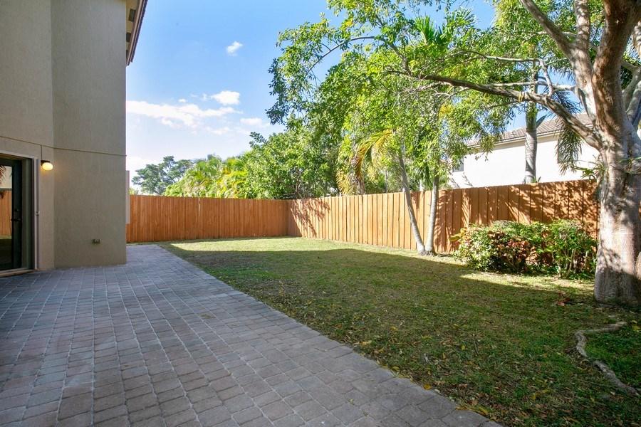 Real Estate Photography - 11441 SW 242 Lane, Homestead, FL, 33032 - Back Yard