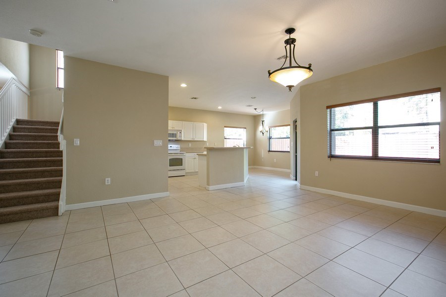 Real Estate Photography - 11441 SW 242 Lane, Homestead, FL, 33032 - Family Room