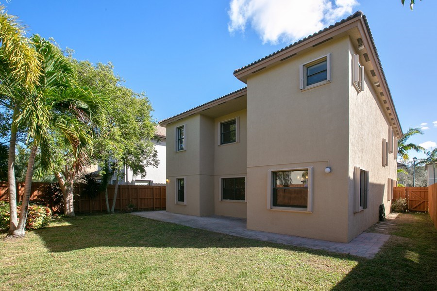 Real Estate Photography - 11441 SW 242 Lane, Homestead, FL, 33032 - Rear View