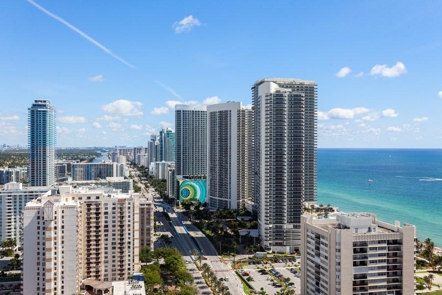 Real Estate Photography - 1945 S Ocean Drive, Unit 2812, Hallandale Beach, FL, 33009 - View