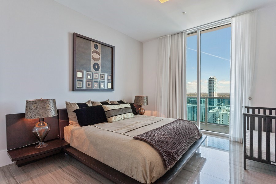 Real Estate Photography - 1945 S Ocean Drive, Unit 2812, Hallandale Beach, FL, 33009 - 2nd Bedroom
