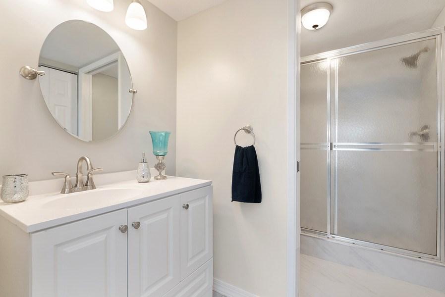 Real Estate Photography - 18771 Stewart Cir, Unit 6, Boca Raton, FL, 33496 - Master Bathroom