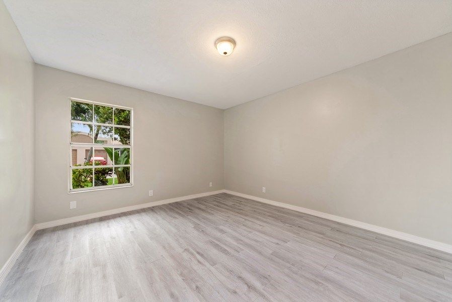 Real Estate Photography - 18771 Stewart Cir, Unit 6, Boca Raton, FL, 33496 - Bedroom