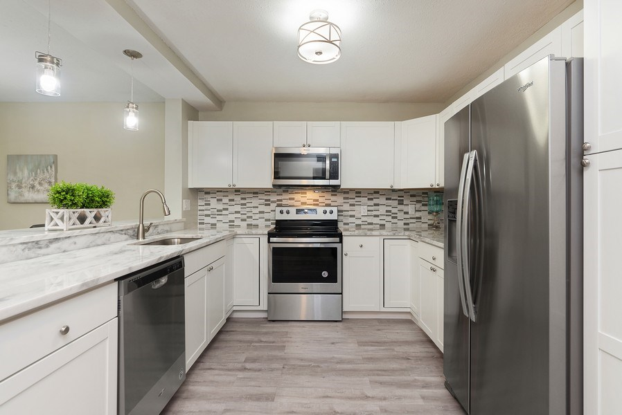 Real Estate Photography - 18771 Stewart Cir, Unit 6, Boca Raton, FL, 33496 - Kitchen