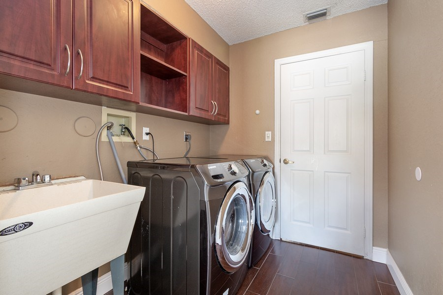 Real Estate Photography - 20211 NW 9TH DRIVE, PEMBROKE PINES, FL, 33029 - Laundry Room