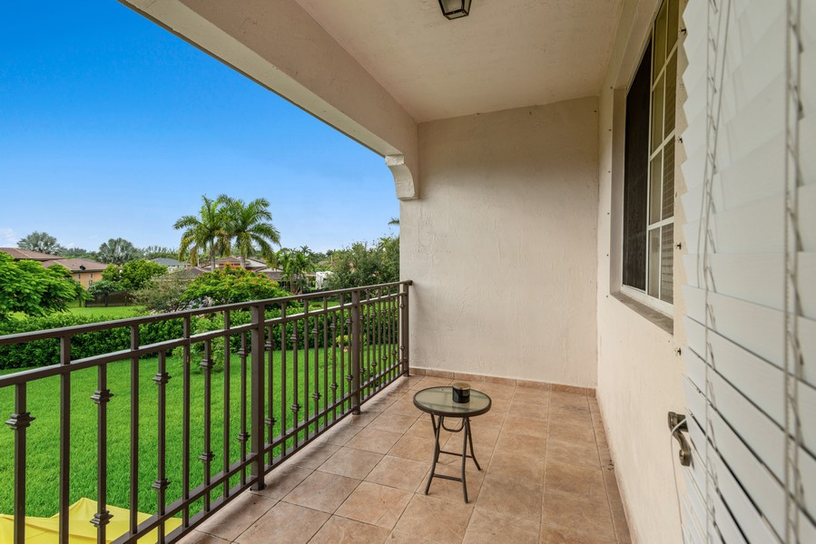 Real Estate Photography - 13126 SW 196th St, Miami, FL, 33177 - Terrace