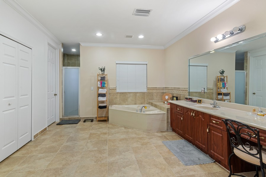Real Estate Photography - 13126 SW 196th St, Miami, FL, 33177 - Master Bathroom