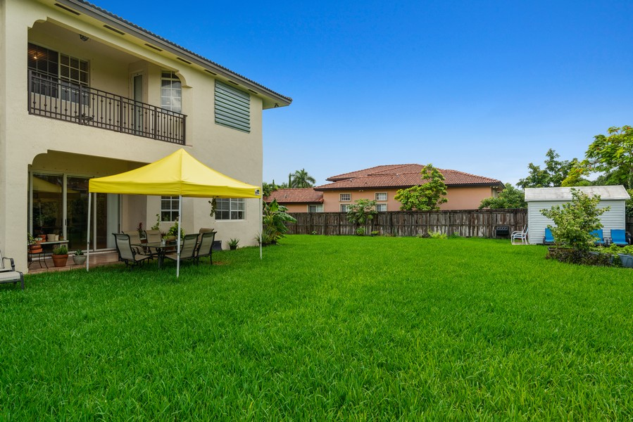 Real Estate Photography - 13126 SW 196th St, Miami, FL, 33177 - Terrace 2