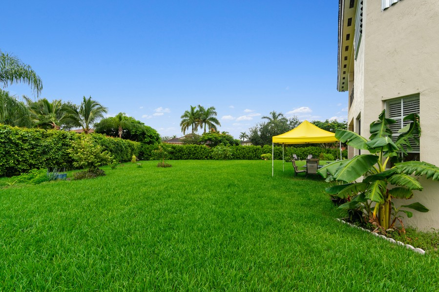 Real Estate Photography - 13126 SW 196th St, Miami, FL, 33177 - Back Yard
