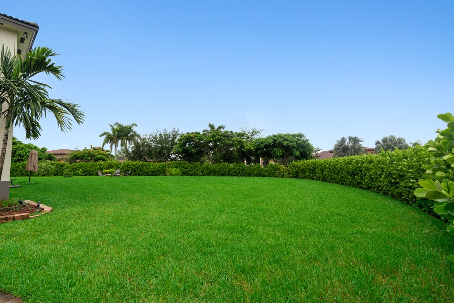 Real Estate Photography - 13126 SW 196th St, Miami, FL, 33177 - Side Yard