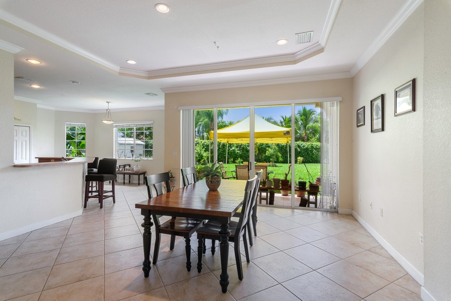 Real Estate Photography - 13126 SW 196th St, Miami, FL, 33177 - Kitchen / Dining Room