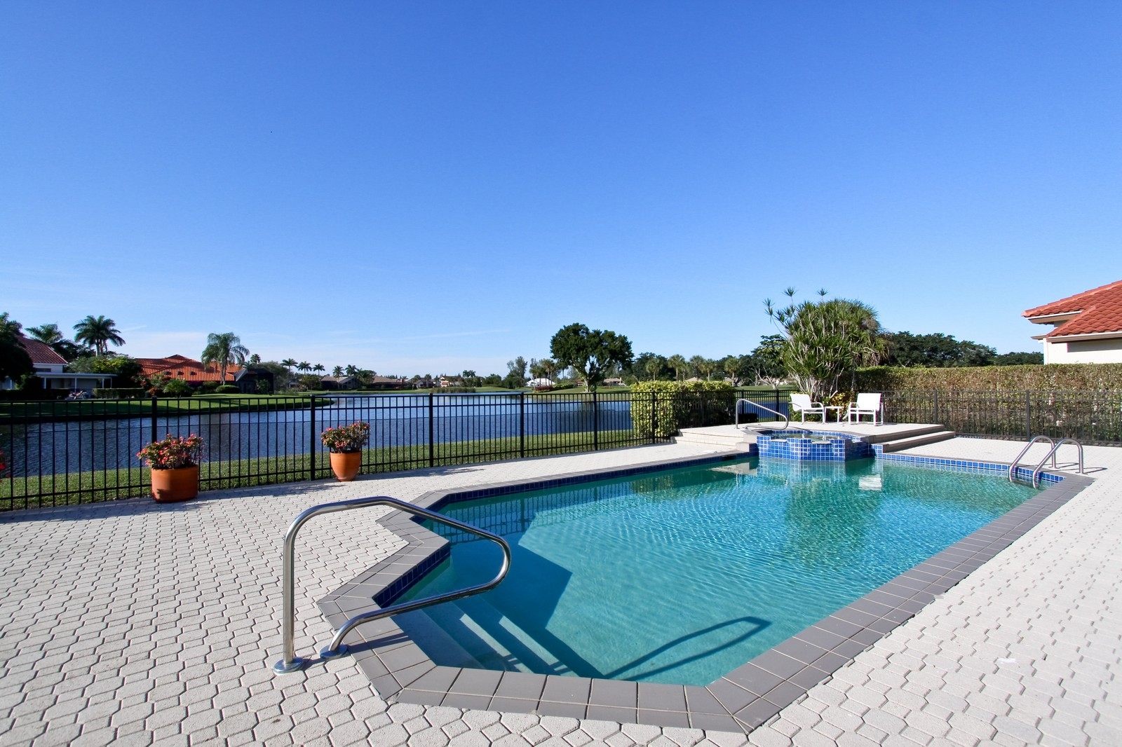 Real Estate Photography - 17799 Heather Ridge, Boca Raton, FL, 33498 - Pool
