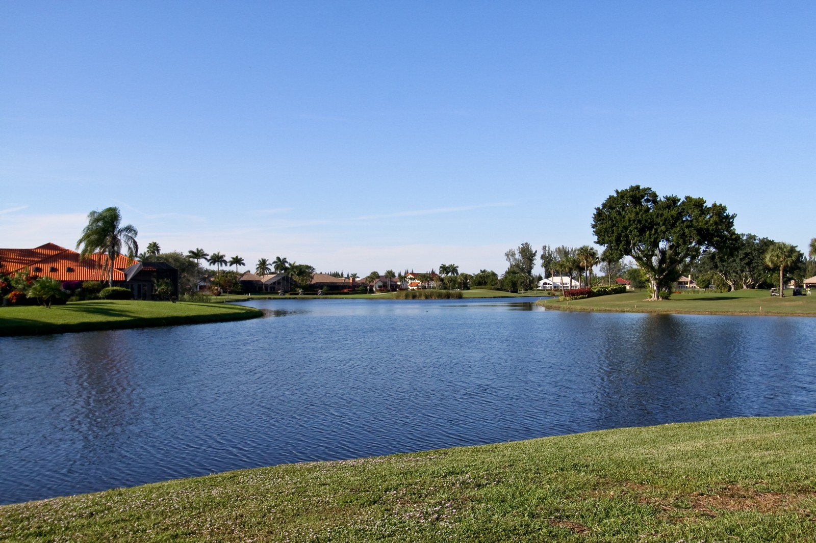 Real Estate Photography - 17799 Heather Ridge, Boca Raton, FL, 33498 - Lake View