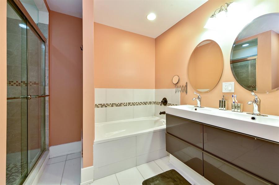 Real Estate Photography - 114 N Latrobe Ave, Chicago, IL, 60644 - Master Bathroom