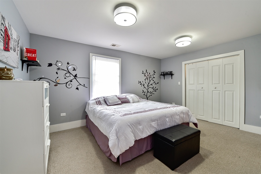 Real Estate Photography - 114 N Latrobe Ave, Chicago, IL, 60644 - Master Bedroom