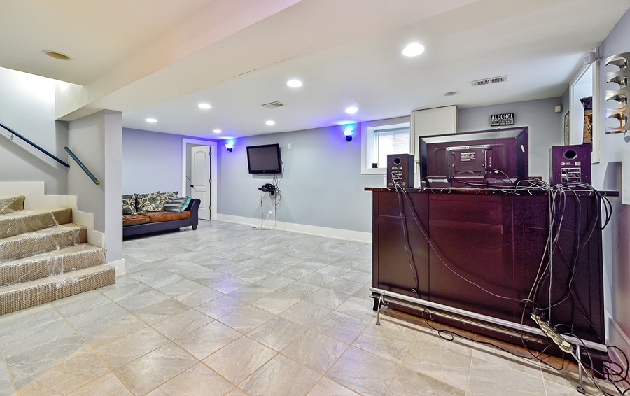 Real Estate Photography - 114 N Latrobe Ave, Chicago, IL, 60644 - Lower Level