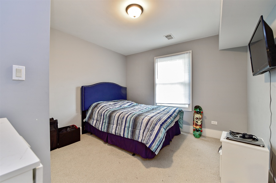 Real Estate Photography - 114 N Latrobe Ave, Chicago, IL, 60644 - Bedroom