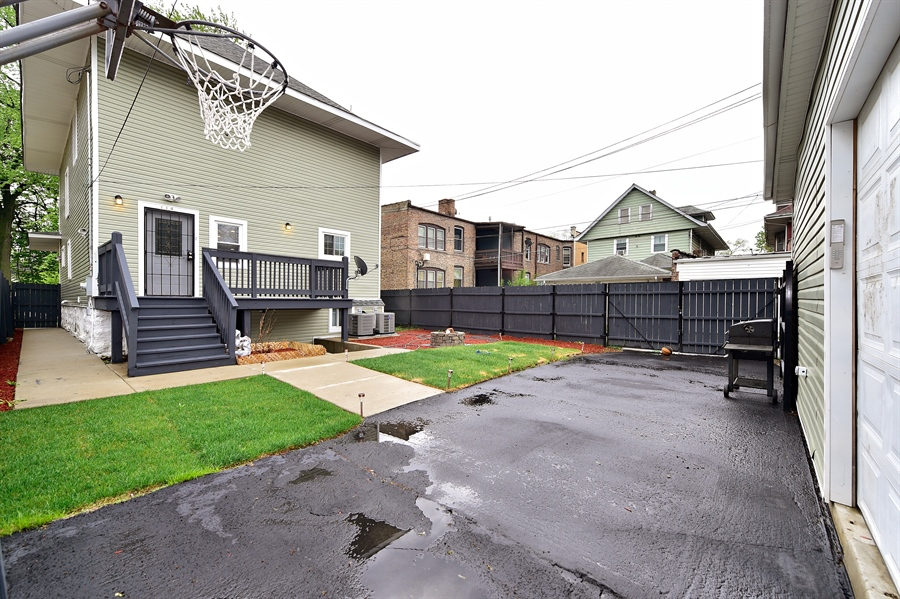 Real Estate Photography - 114 N Latrobe Ave, Chicago, IL, 60644 - Back Yard