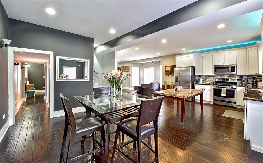 Real Estate Photography - 114 N Latrobe Ave, Chicago, IL, 60644 - Kitchen / Dining Room