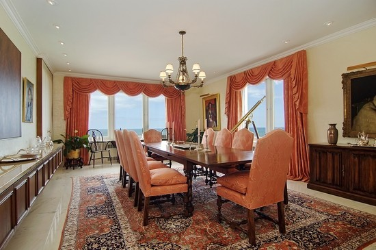 Real Estate Photography - 179 E Lake Shore Dr, Unit 29, Chicago, IL, 60611 - Dining Room