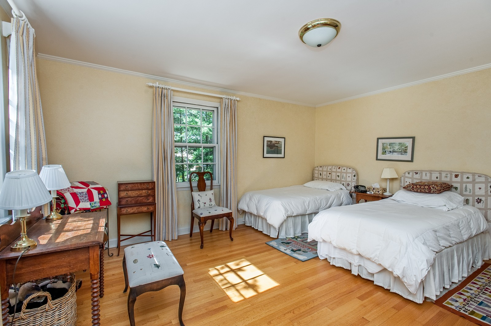 Real Estate Photography - 784 Lincoln Avenue, Winnetka, IL, 60093 - 3rd Bedroom