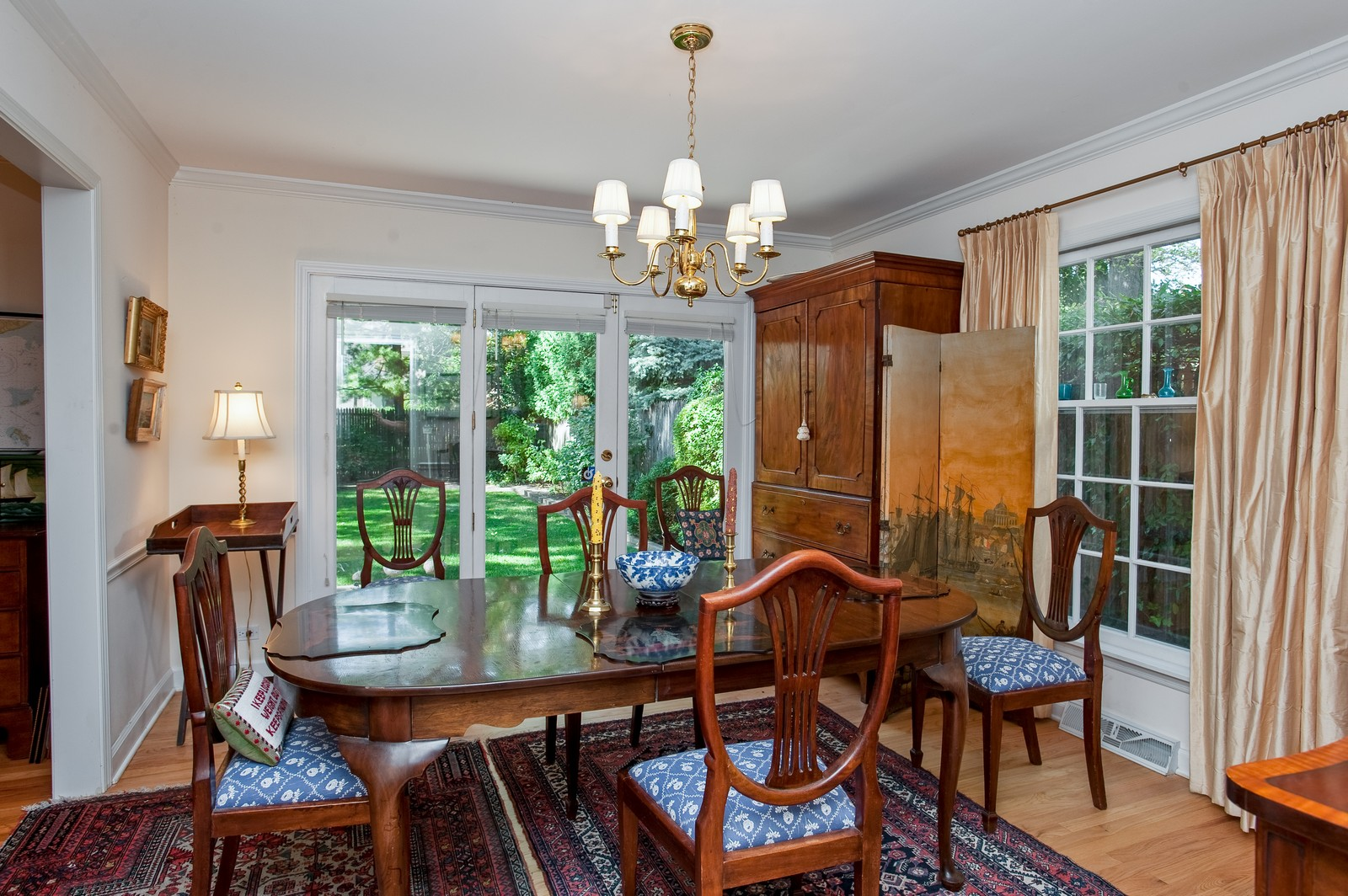 Real Estate Photography - 784 Lincoln Avenue, Winnetka, IL, 60093 - Dining Room