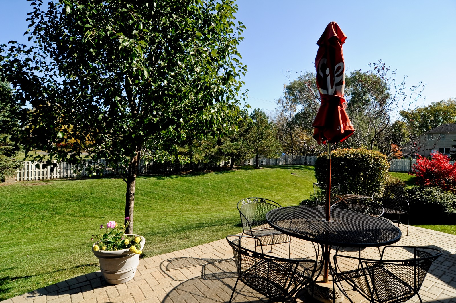 Real Estate Photography - 400 Kerry, Prospect Heights, IL, 60070 - Back Yard