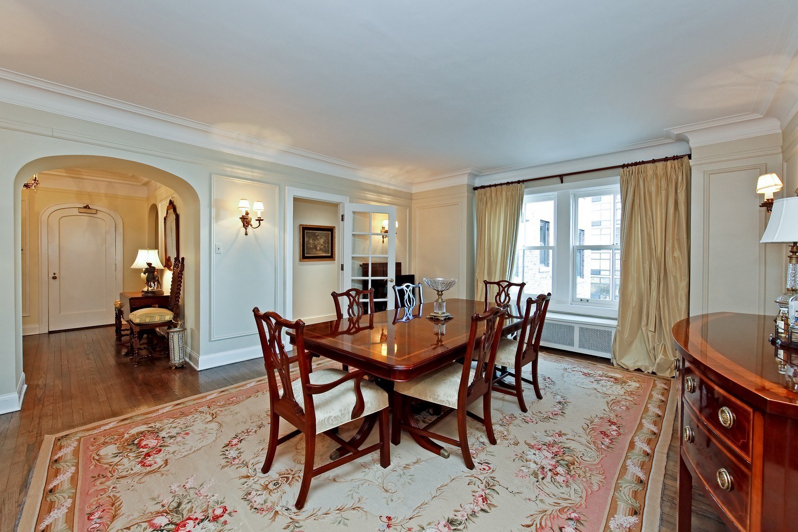 Real Estate Photography - 1209 N Astor, Unit 6S, Chicago, IL, 60610 - Dining Room