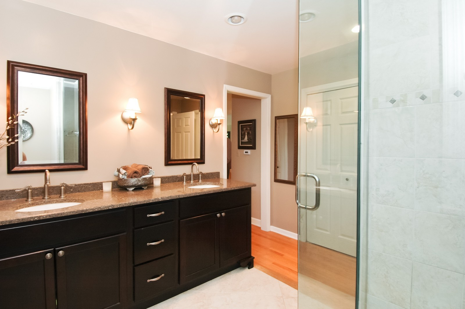 Real Estate Photography - 237 Vally Road, Cary, IL, 60013 - Master Bathroom