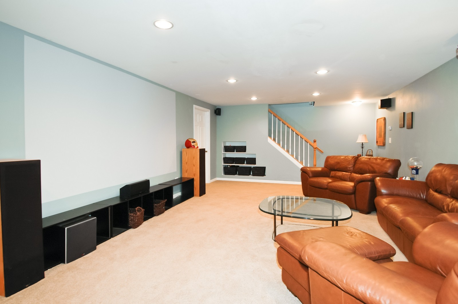 Real Estate Photography - 237 Vally Road, Cary, IL, 60013 - Theater
