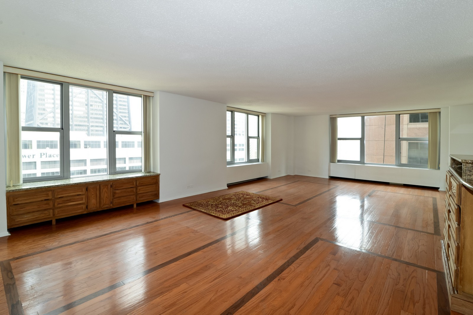 Real Estate Photography - 777 N Michigan Ave, Unit 2200, Chicago, IL, 60611 - Living Room