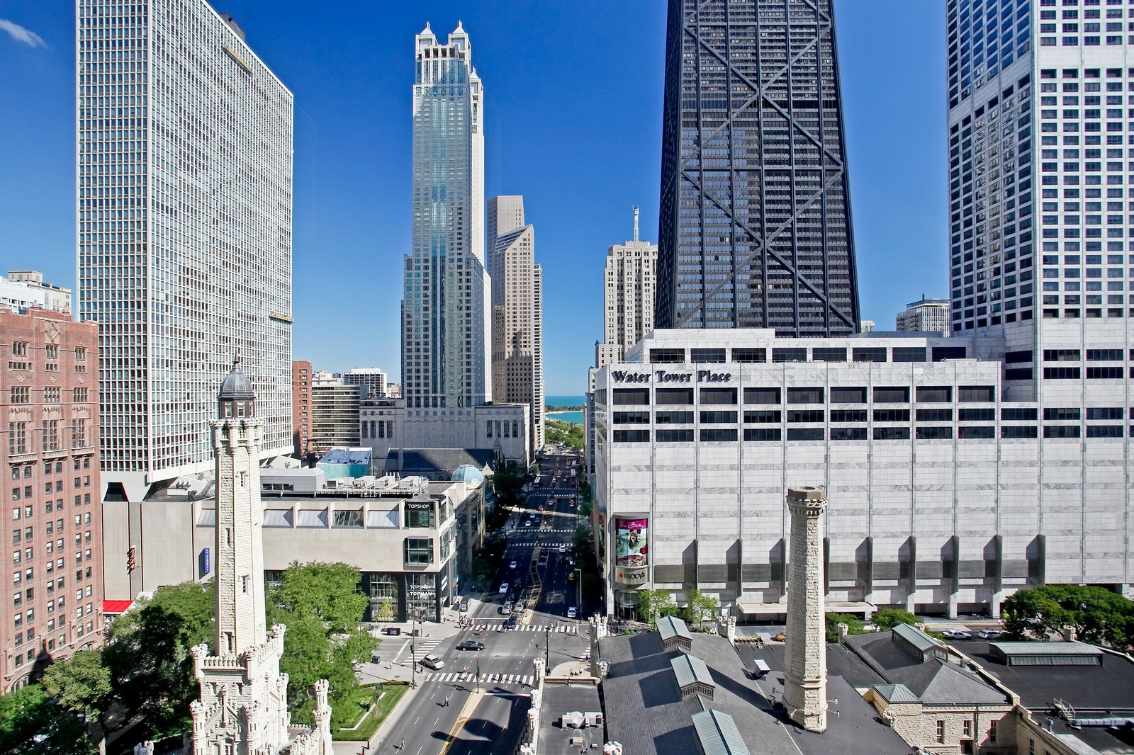 Real Estate Photography - 777 N Michigan Ave, Unit 2200, Chicago, IL, 60611 - View