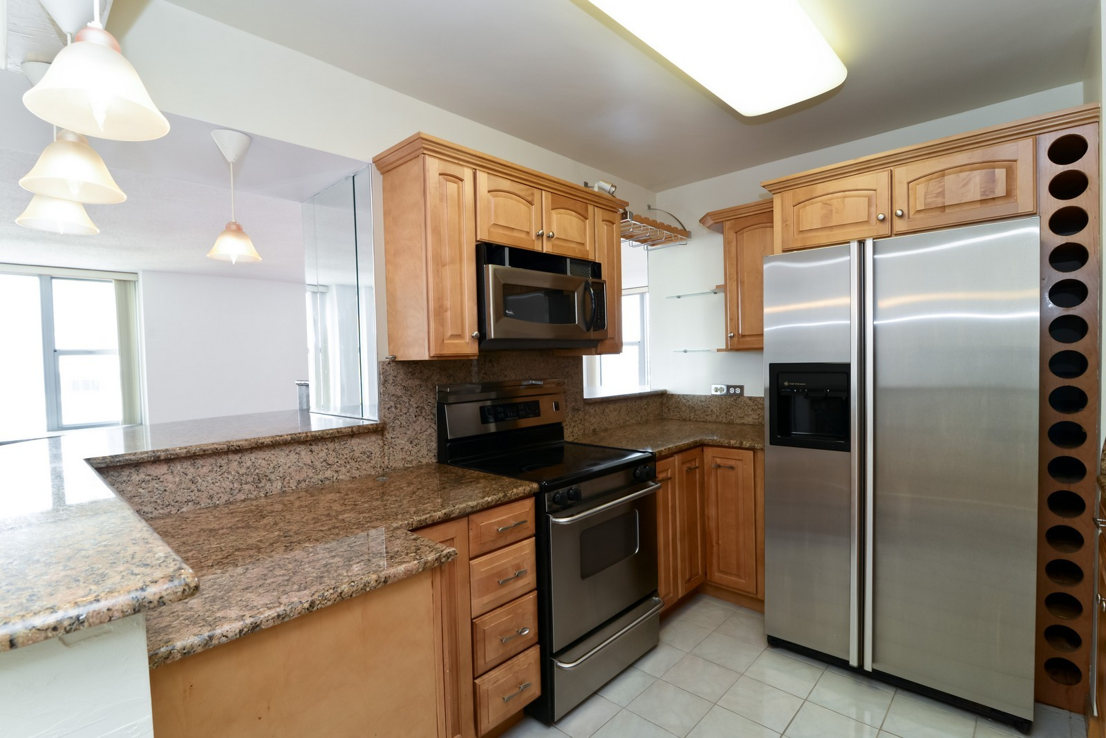 Real Estate Photography - 777 N Michigan Ave, Unit 2200, Chicago, IL, 60611 - Kitchen