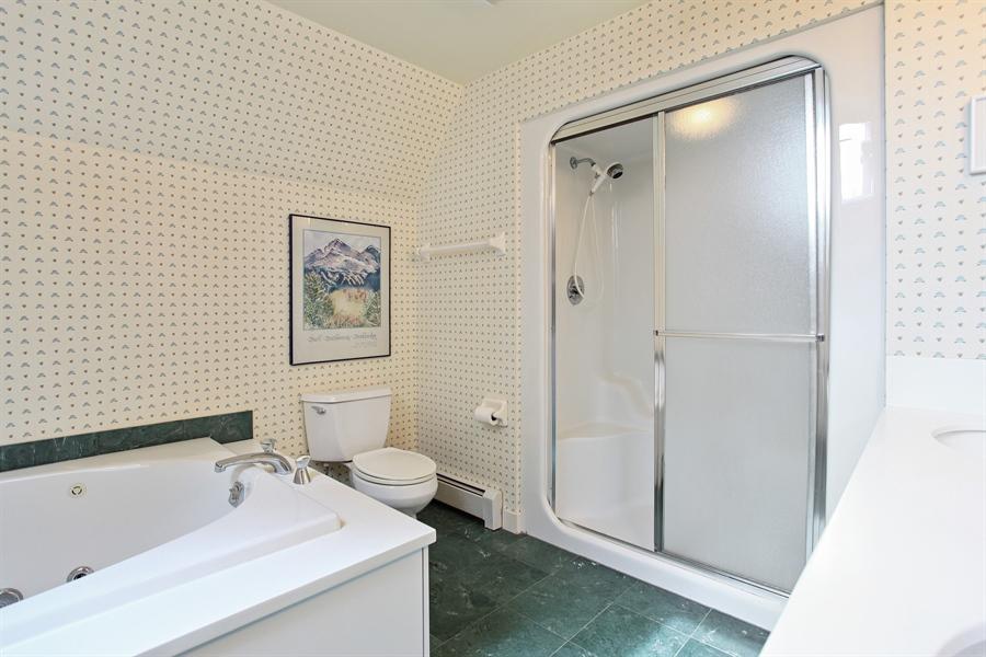 Real Estate Photography - 1417 Scott Ave, Winnetka, IL, 60093 - Master Bathroom