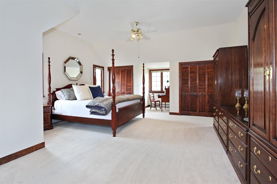 Real Estate Photography - 1417 Scott Ave, Winnetka, IL, 60093 - Master Bedroom