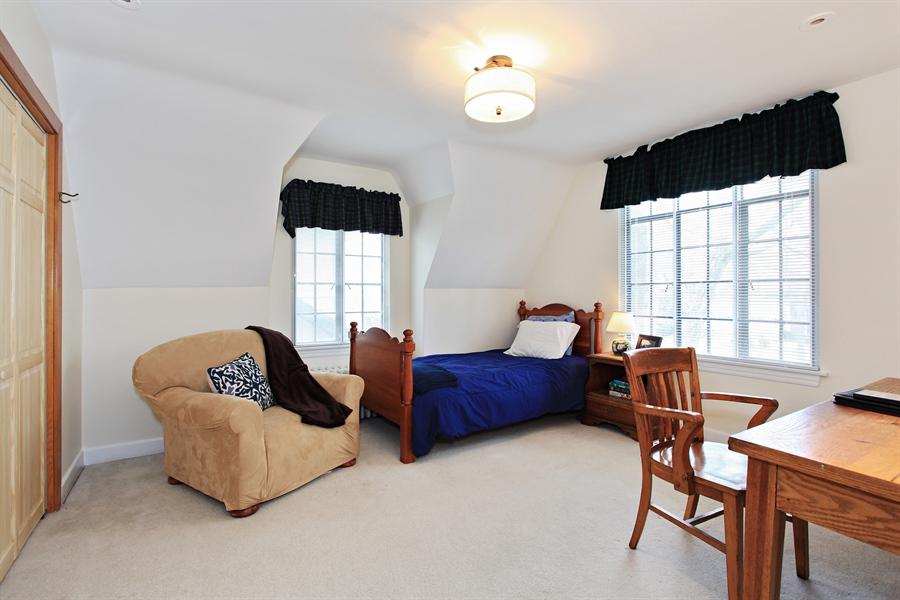 Real Estate Photography - 1417 Scott Ave, Winnetka, IL, 60093 - 2nd Bedroom