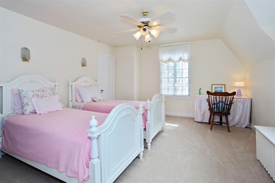 Real Estate Photography - 1417 Scott Ave, Winnetka, IL, 60093 - 3rd Bedroom