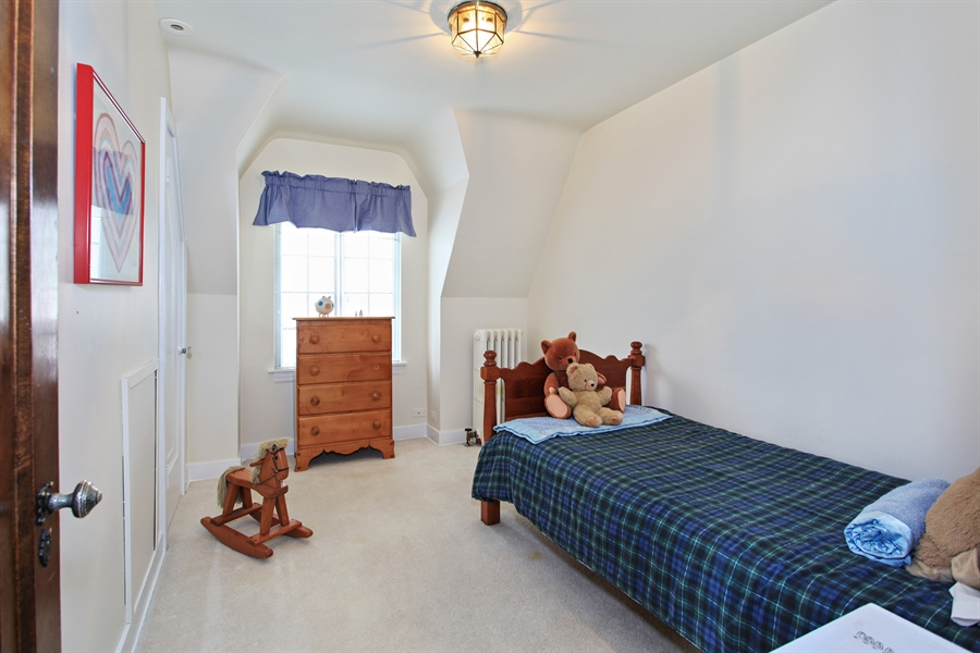 Real Estate Photography - 1417 Scott Ave, Winnetka, IL, 60093 - 4th Bedroom