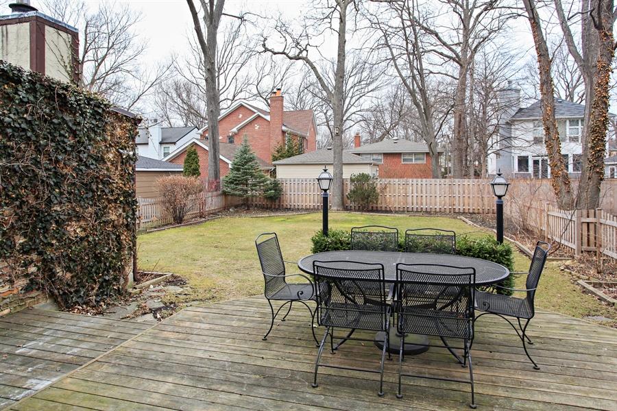 Real Estate Photography - 1417 Scott Ave, Winnetka, IL, 60093 - Back Yard