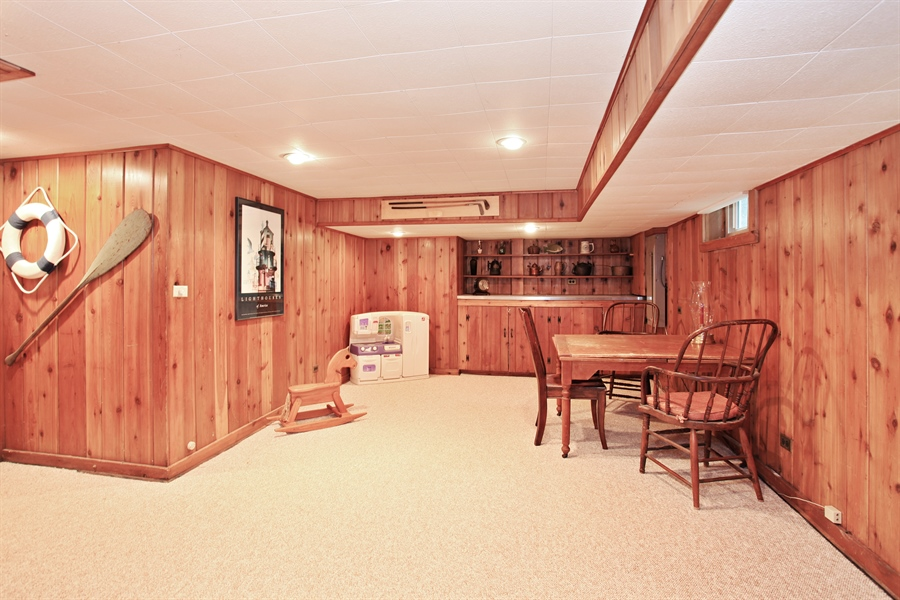 Real Estate Photography - 1417 Scott Ave, Winnetka, IL, 60093 - Play / Recreational Room